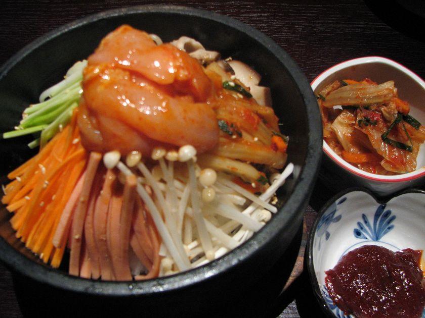 滑鸡石锅拌饭