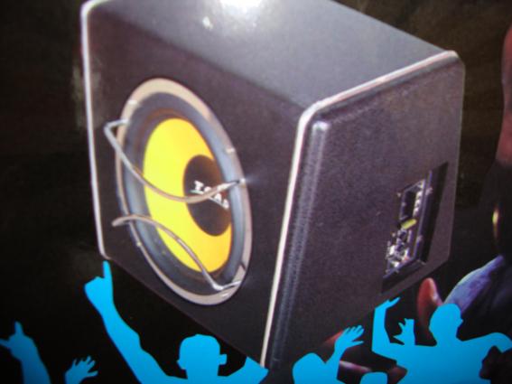 toad汽车10串带功放低音炮高清图片