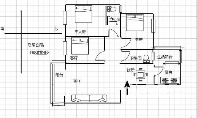 设计图分享 三房一厅设计图平面图  二楼120四房一厅设计图分享展示