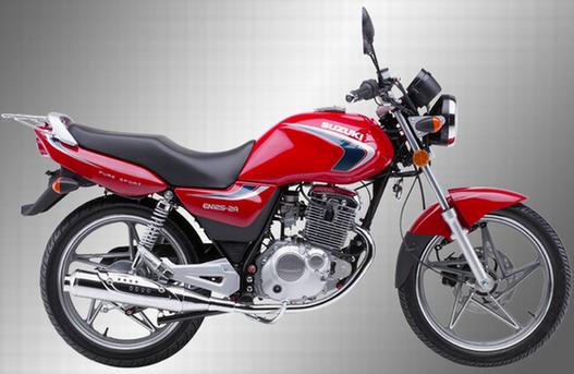 铃木豪爵suzukien125-2a摩托车