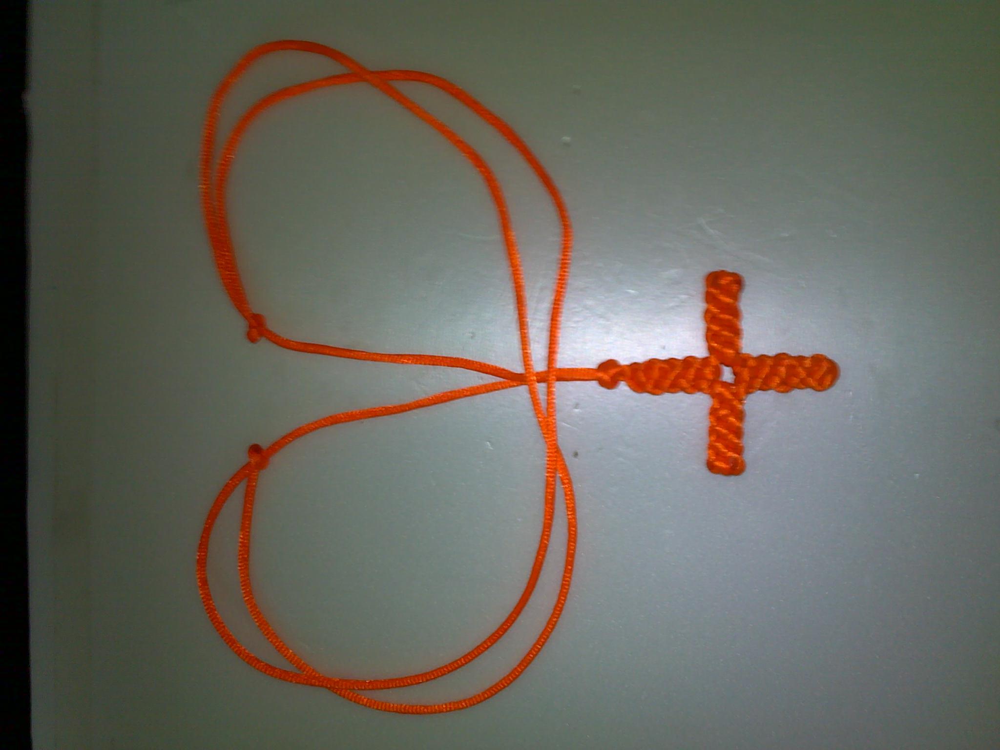 吊坠绳结的打法图解