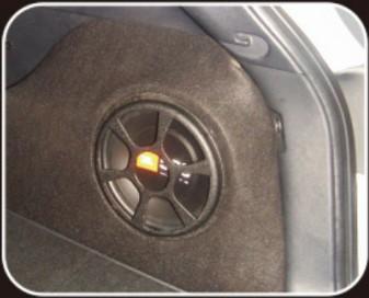 佛山三水汽车音响改装,现代IX35专用低音炮箱子 10寸低音箱 现代IX